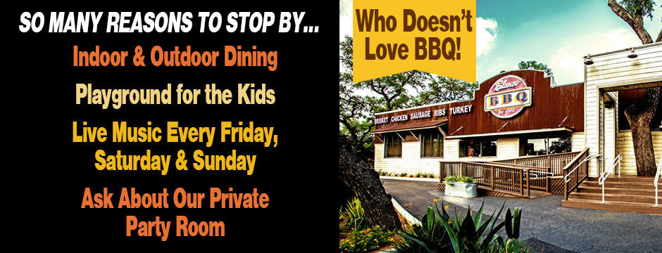 Open, Dine-In, BBQ